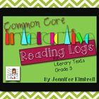 Common Core State Standards require students to read, examine, and discuss a variety of texts. The reading log is a tool to use in aiding comprehen...