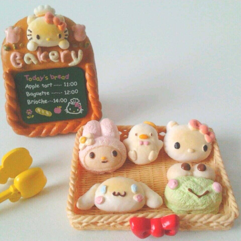 Sanrio bakery - Hello Kitty, My Melody, Cinnamoroll, Keroppi