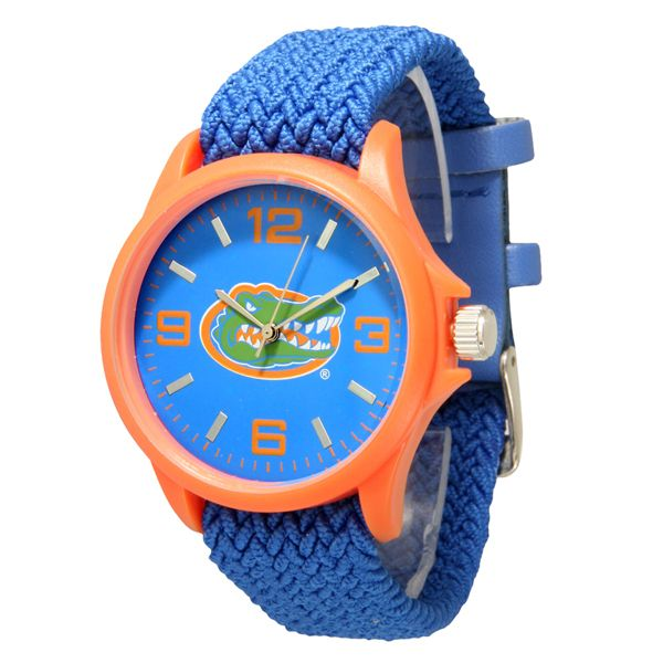 J and D Jewelry and More - Florida Gators Threaded Royal Blue Band Watch, $24.99