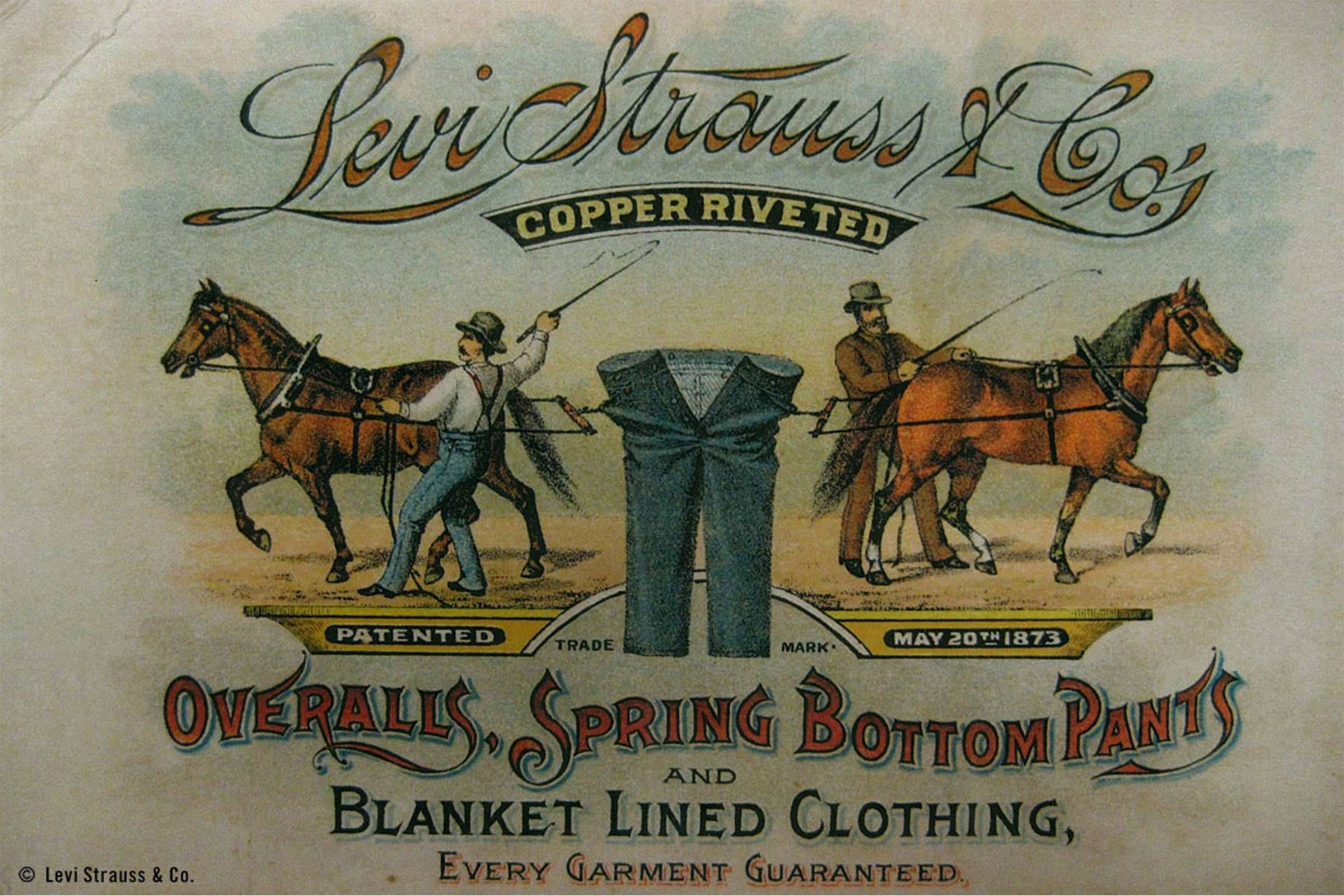 Levi S And The Staying Power Of American Innovation History Of Jeans Levi Vintage Posters