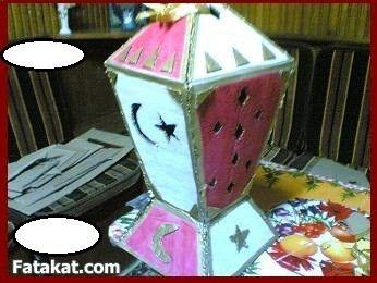 ست أروبة ست لهلوبة طريقة عمل فانوس رمضان Ramadan Crafts Eid Crafts Ramadan Decorations