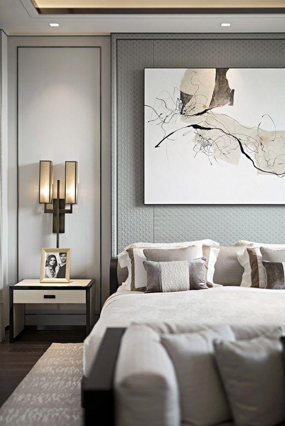 Europäische Stil Schlafzimmer Design Luxusschlafzimmer