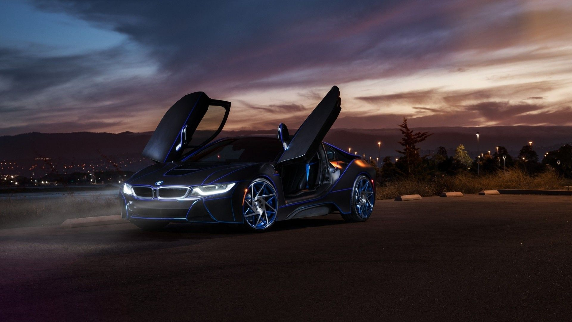 Bmw I8 Hybrid Supercar Wallpapers For Desktop 1920x1080 Wallpaper