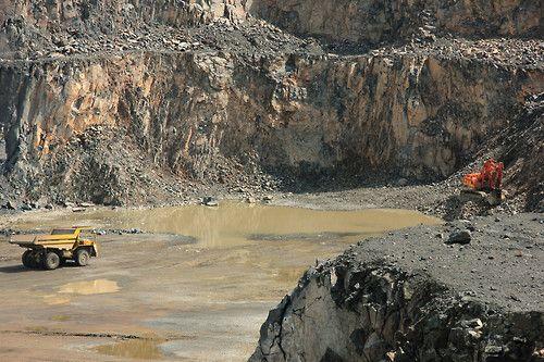 Granito e basalto mina