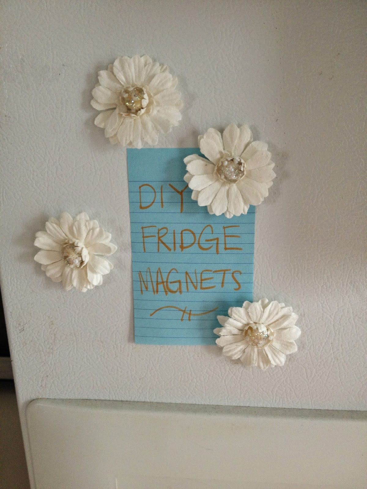 Apartment Decor DIY Fridge Magnets Apartment Pinterest - Diy apartment decor ideas