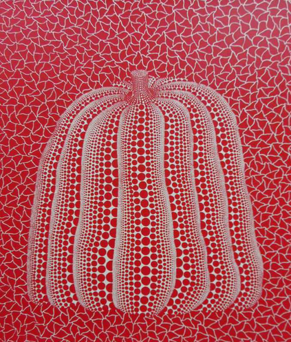 #Art Market: for sale on #ARTPRICE Yayoi KUSAMA - Red Pumpkin http://goo.gl/DNzRle  #ArtMarket