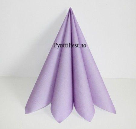 Servietter Textile Touch Lavendel