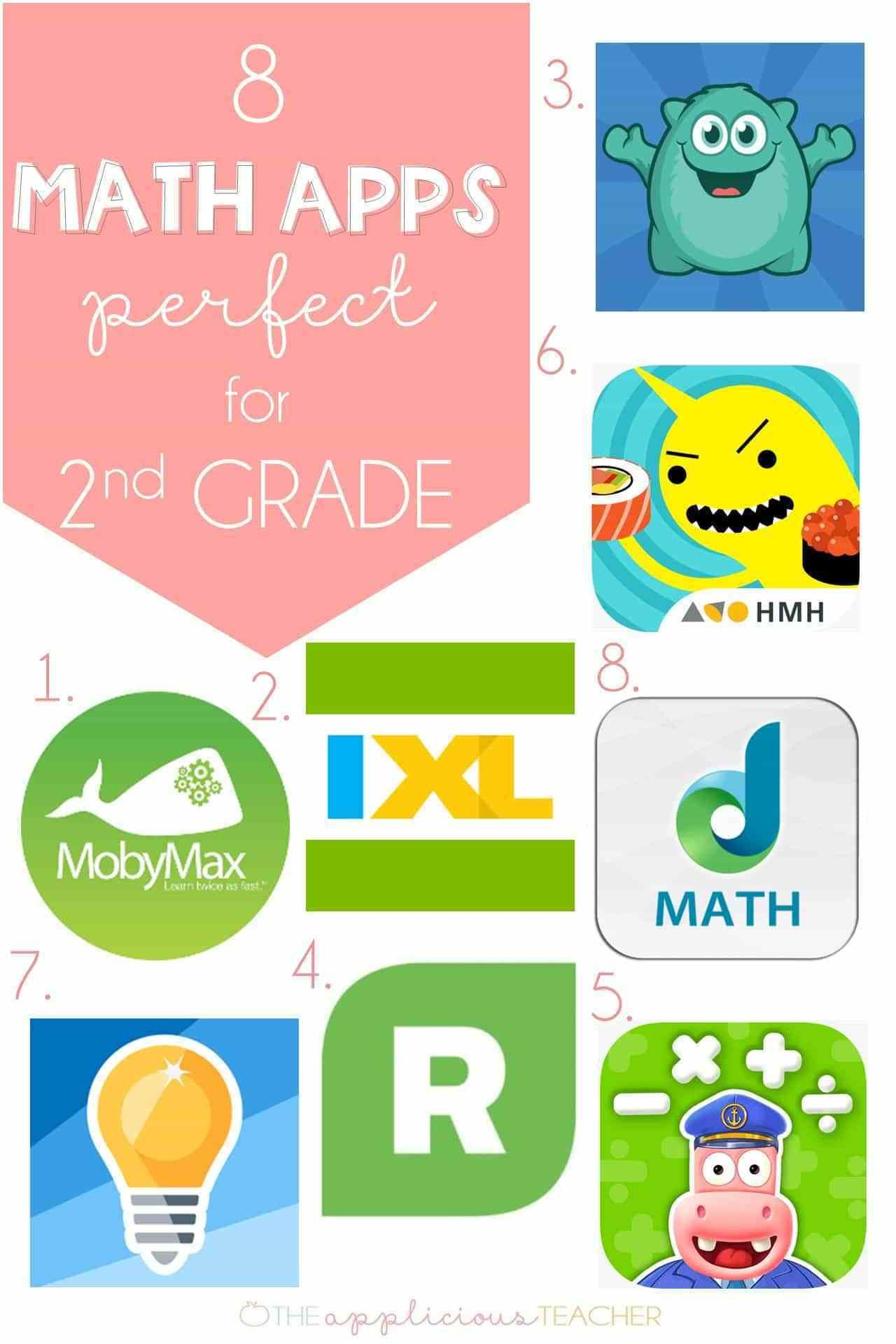8 Math Apps that are Perfect for 2nd Grade in 2020 (With
