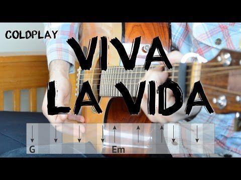 Viva La Vida Guitar Tutorial Coldplay Easy Chords And