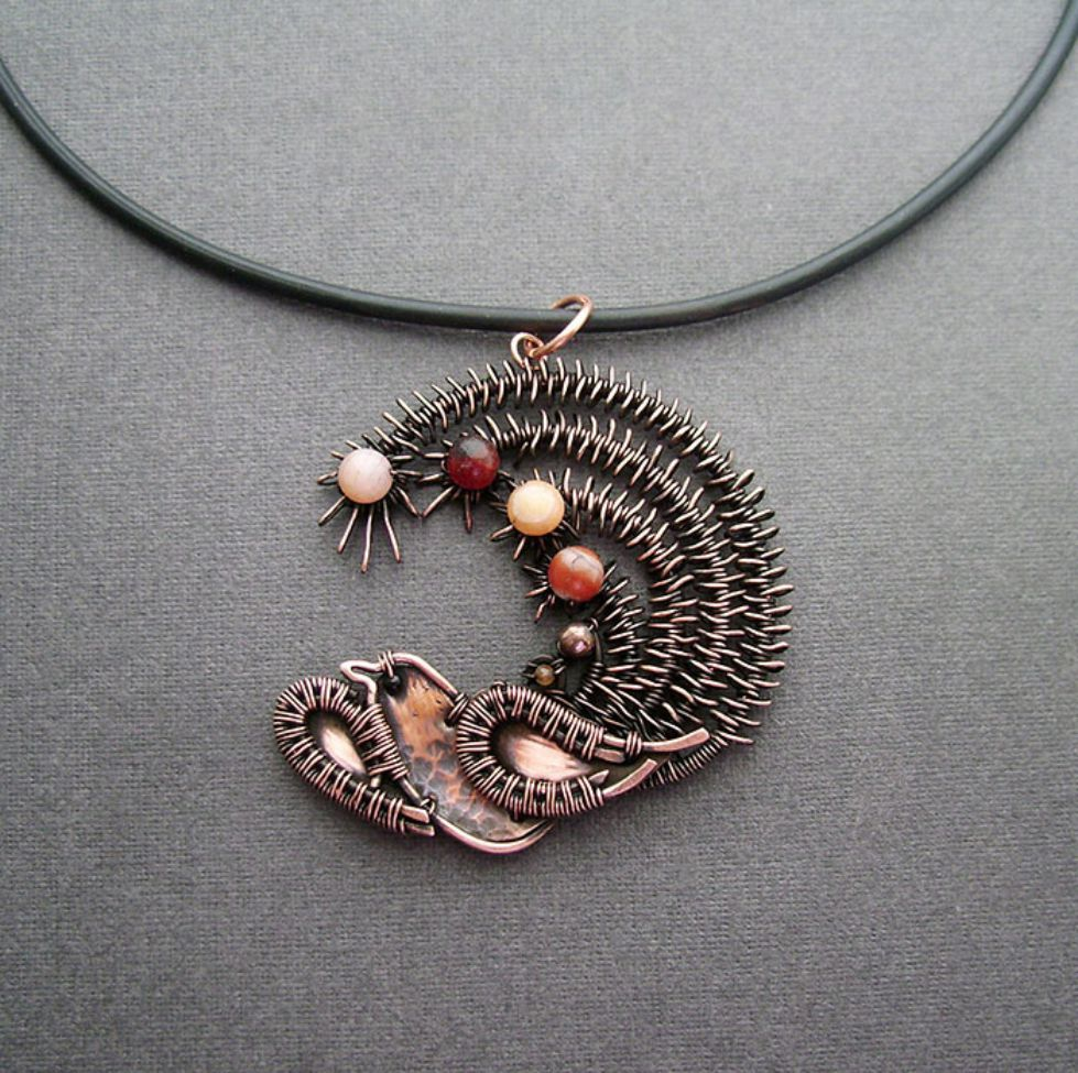 SelfTaught Russian Artist Makes Amazing Wire Wrap Jewelry | Wire ...
