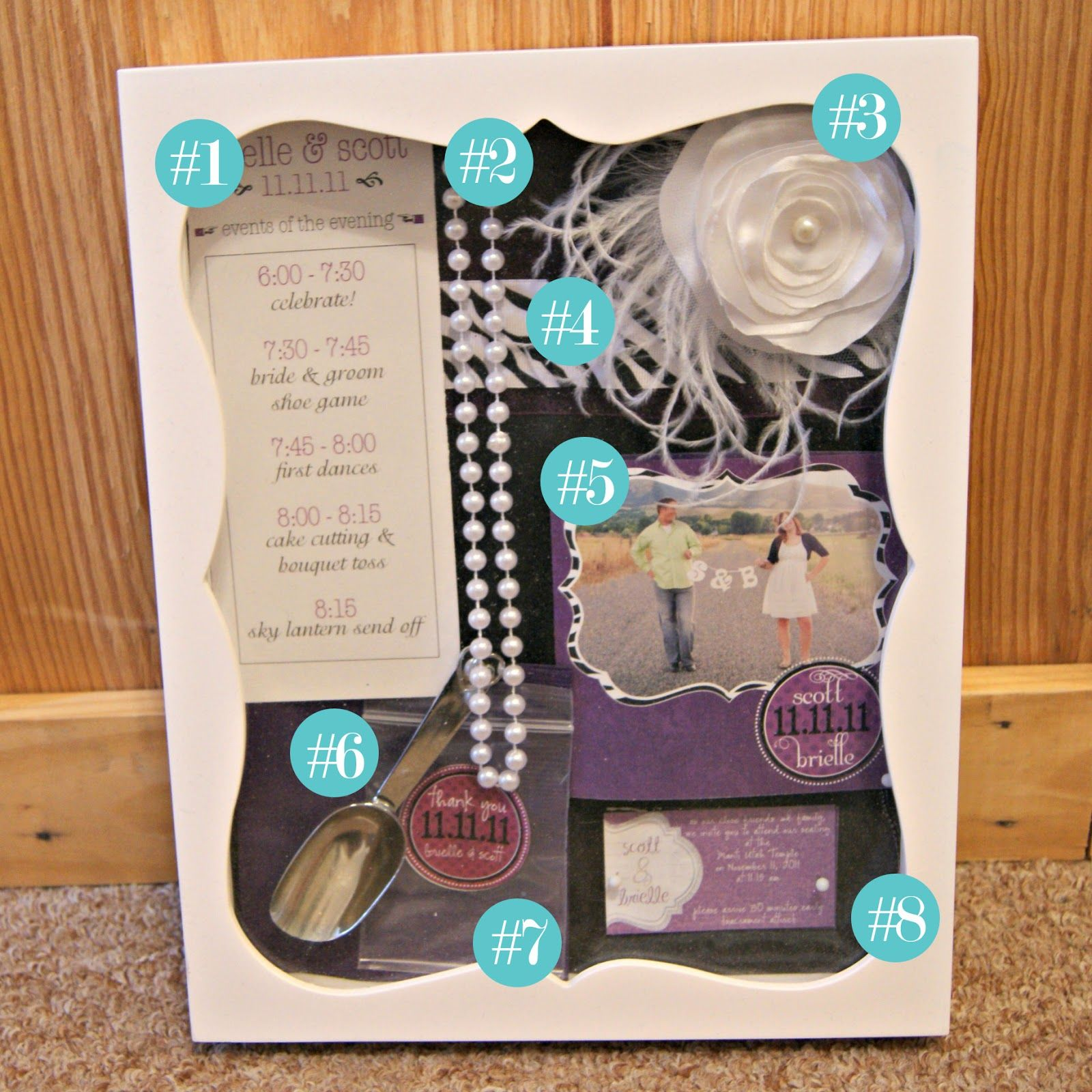 Wedding memory box So cute  Wedding  Pinterest  Wedding memory