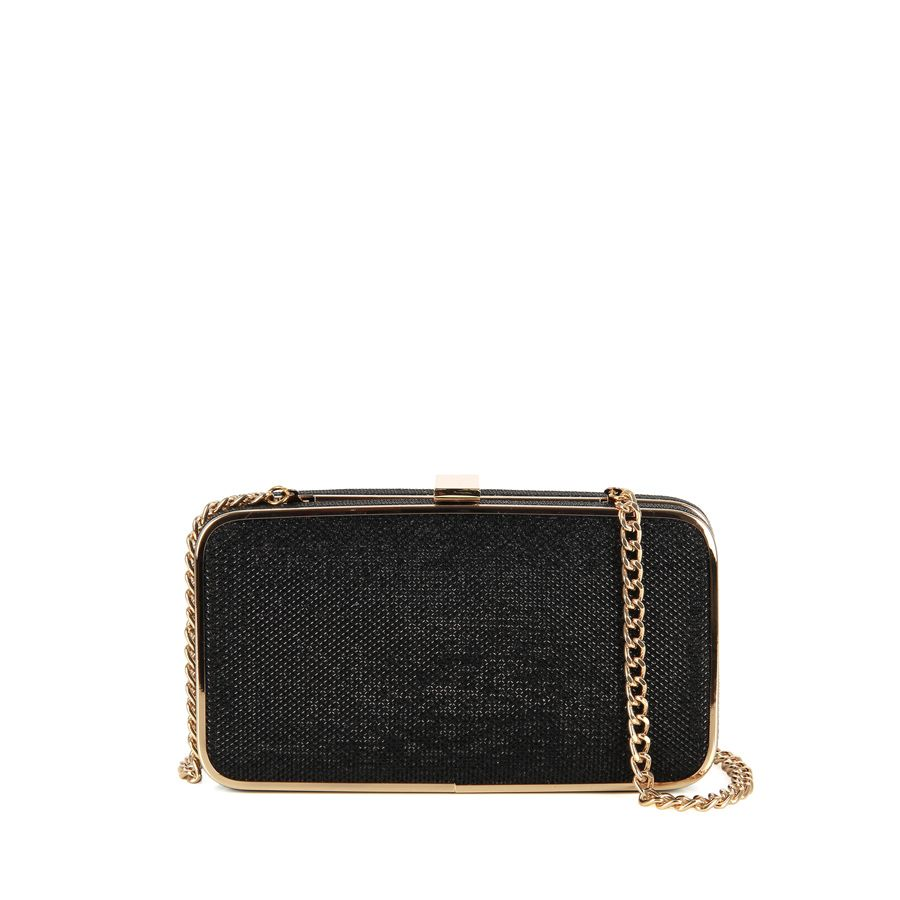 NARKISSA  Clutch en Diamond Negro