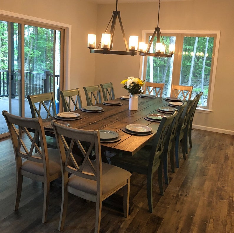 36++ Natural farmhouse table type
