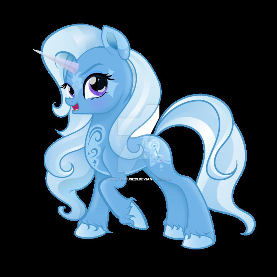 My Little Pony Trixie Lulamoon By Santamouse23 On Deviantart Med Billeder