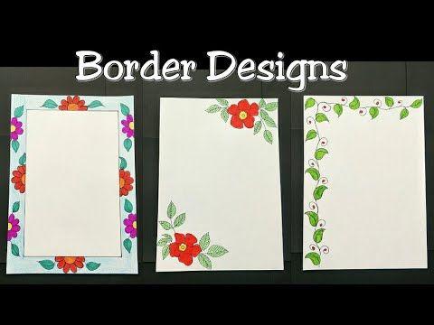 20 Reeta Rani Border Designs Ideas Border Design Borders For Paper Page Borders Design