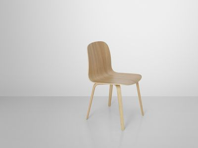 Visu Stuhl Holz 4 Beinig Muuto Stuhl Holz Sperrholzstuhl