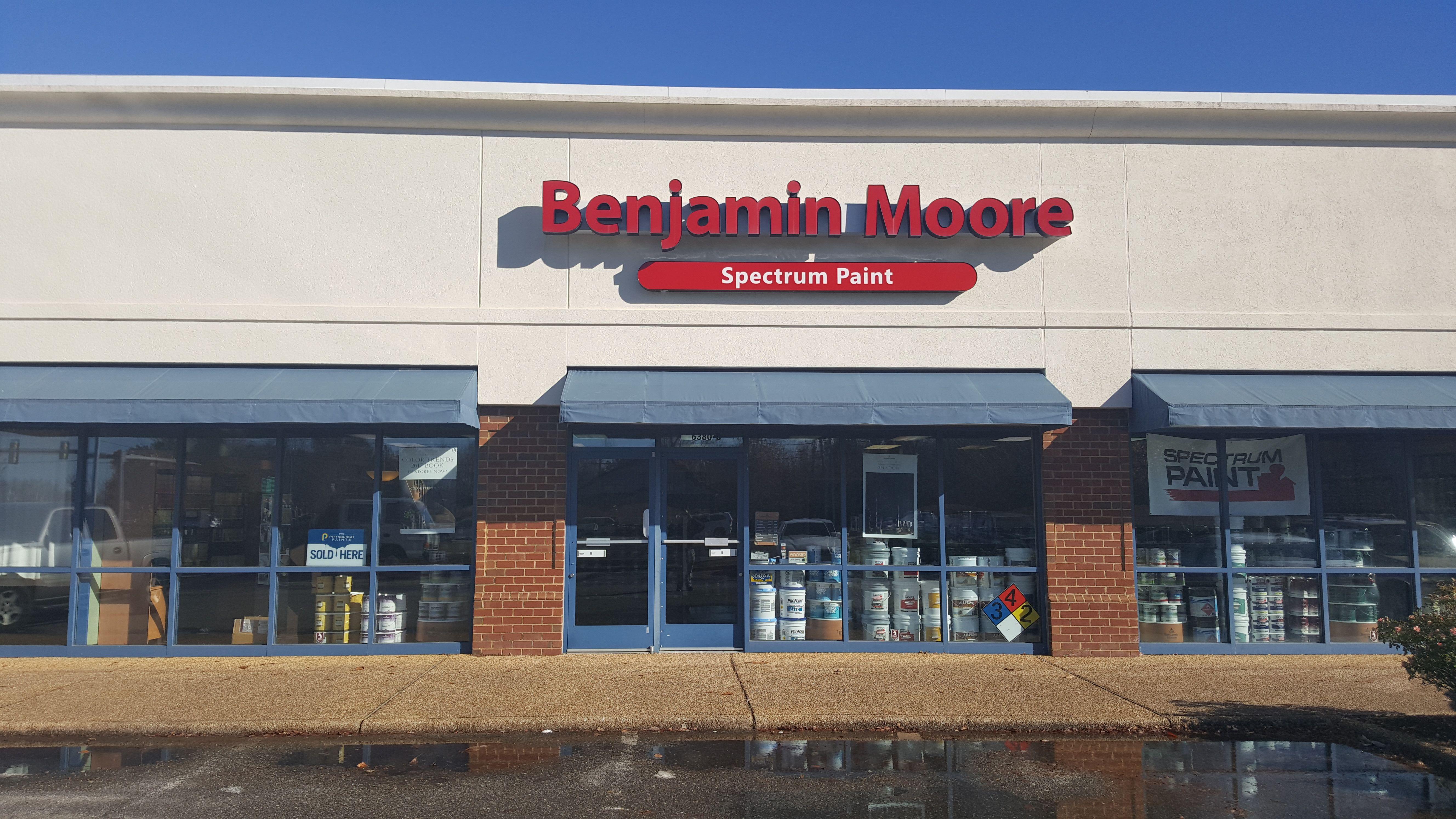 Your Local Spectrum Paint Store In Williamsburg Va We