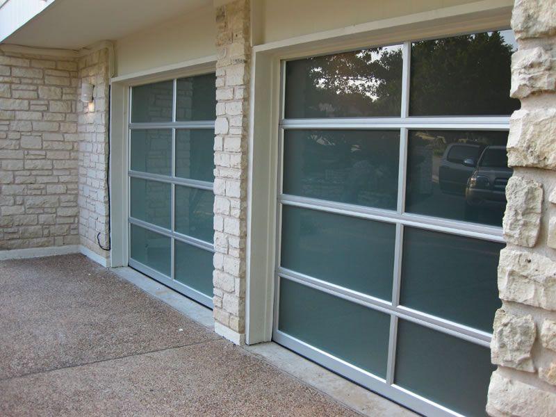 Glass garage doors installed in lakeway tx garage doors