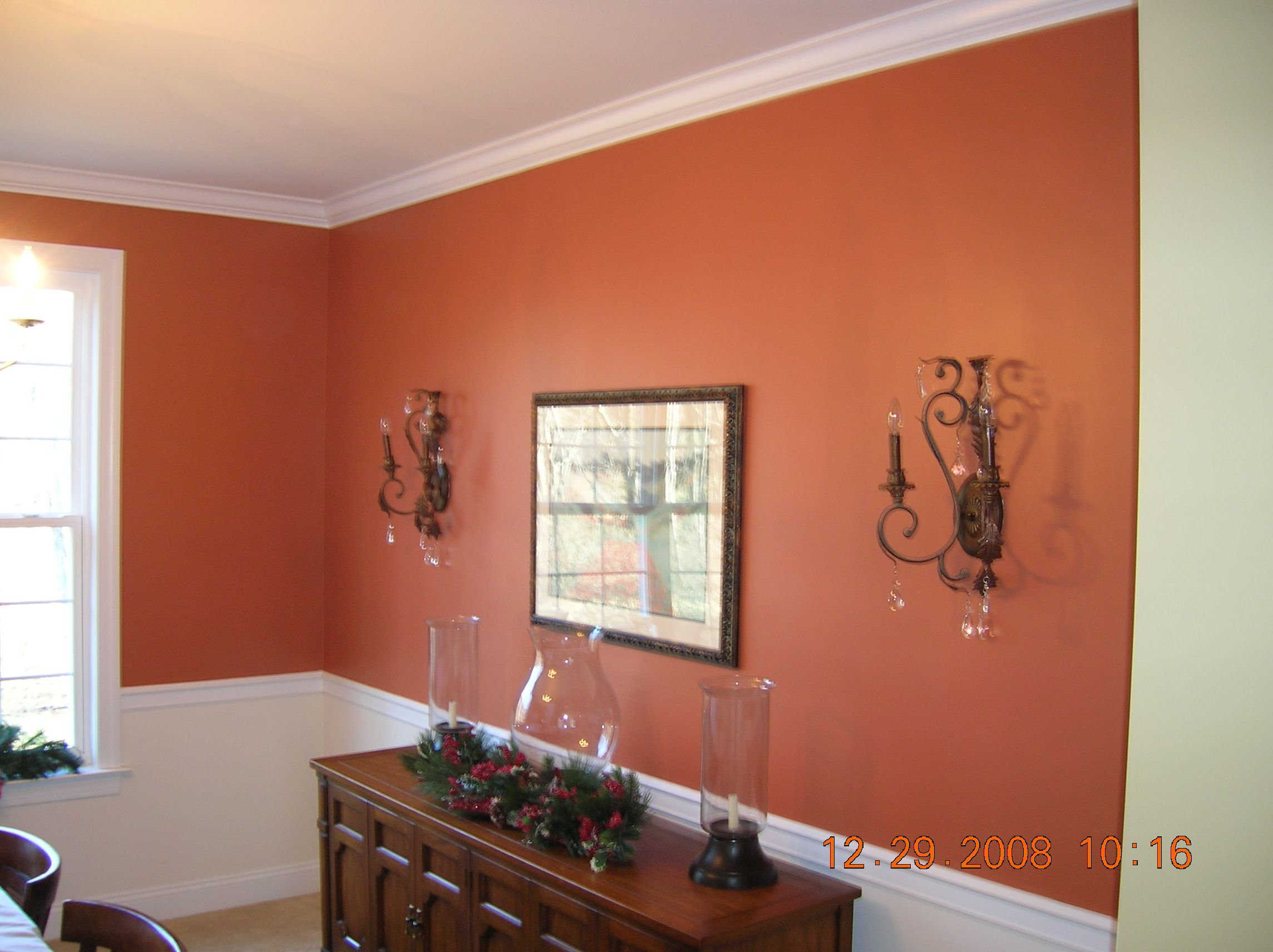 Sherwin williams cavern clay my mama bears den color - Sherwin williams interior paint finishes ...