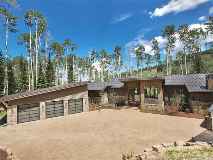 Contemporary Home In White Pine Canyon Park City Utah