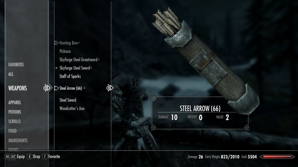 Steel Arrow Replacer at Skyrim Nexus - mods and community | Skyrim