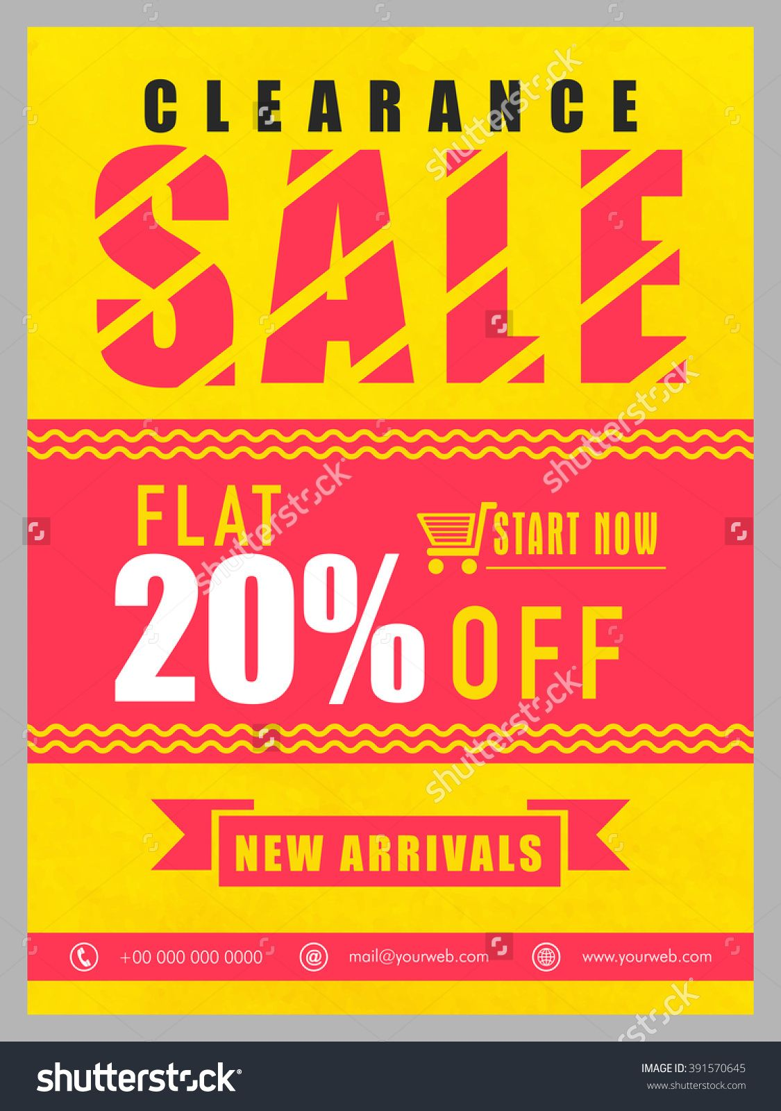 Clearance Sale Banner