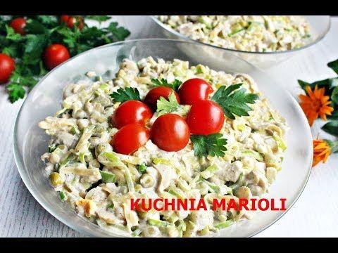 Salatki Youtube Kuchnia Marioli In 2019 Food Ethnic Recipes
