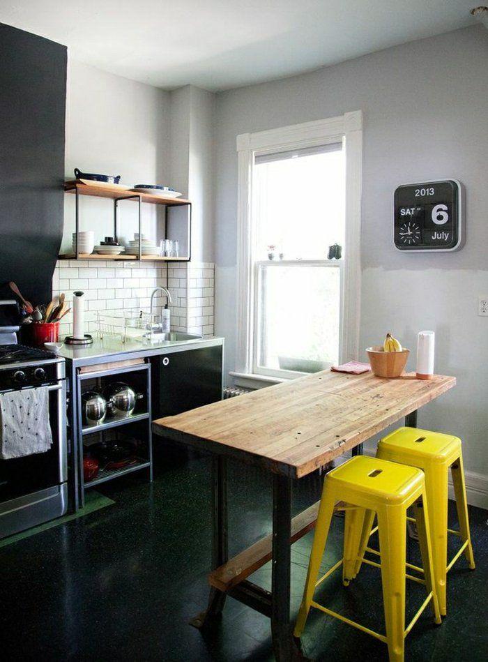Découvrir la beauté de la petite cuisine ouverte! | Woodworking ...
