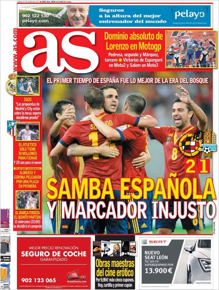 Los Titulares y Portadas de Noticias Destacadas Españolas