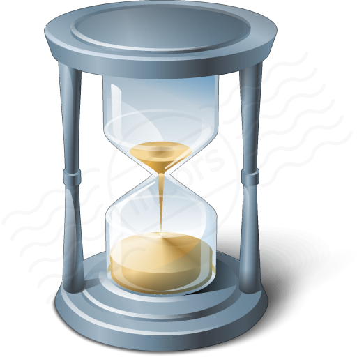 V Collection Hourglass Icon Hourglass V Collection Icon