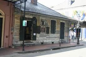 The House of Marie Laveau on St Ann's Street in the French Quarter