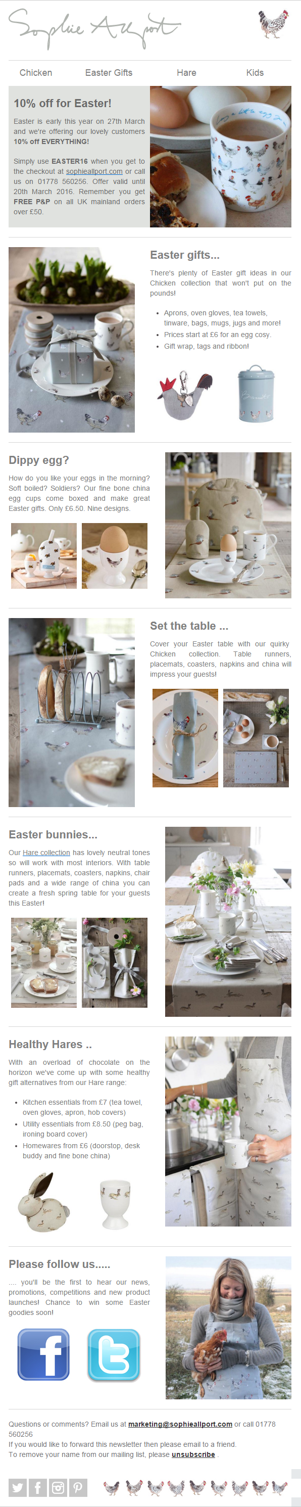 Sophie allport 10 off easter newsletter with coupon code sophie allport 10 off easter newsletter with coupon code emailmarketing email marketing negle Gallery