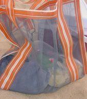 Photo of Easy Sew Project – Mesh beach bag, Mesh beach bag DIY Mesh beach bag …..