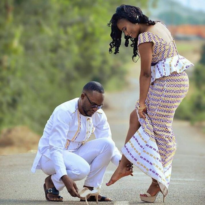 Kente Kaba And Slit Styles For Wedding