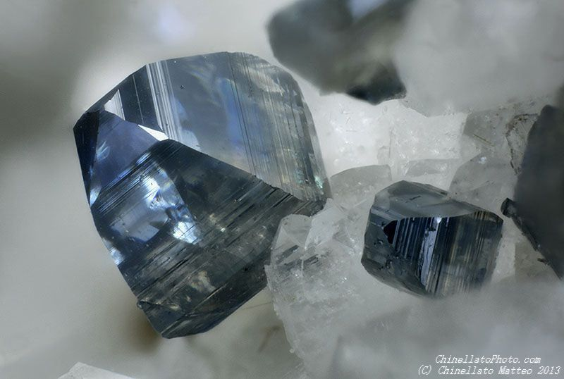 Anatase, Susa Valley, Torino Province, Piedmont, Italy. Crystal size 0.71 mm. Collection/ Photo Matteo Chinellato