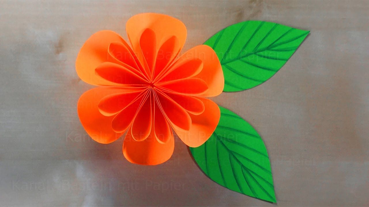 Paper Flowers How To Make A Paper Flower Tutorial 3d Origami