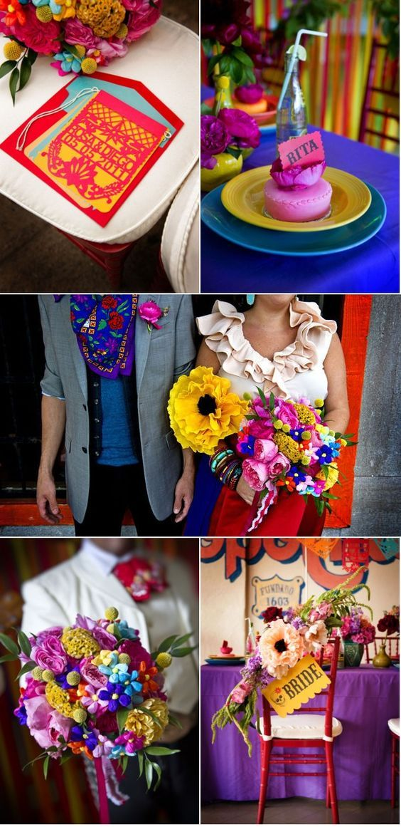 Bodas mexicanas elegantes y nicas inspiracin para su decoracin con colores vibrantes esta decoracin de boda estilo mexicano es irresistible fotografa greg blomberg photography y bows and arrows altavistaventures Image collections