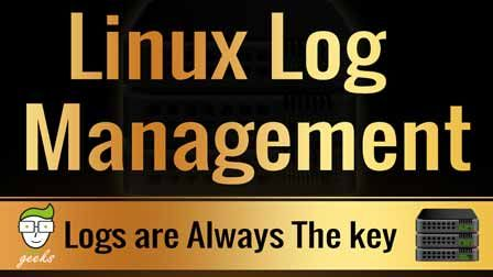 Linux Syslog Server And Log Management Linux Linux Operating