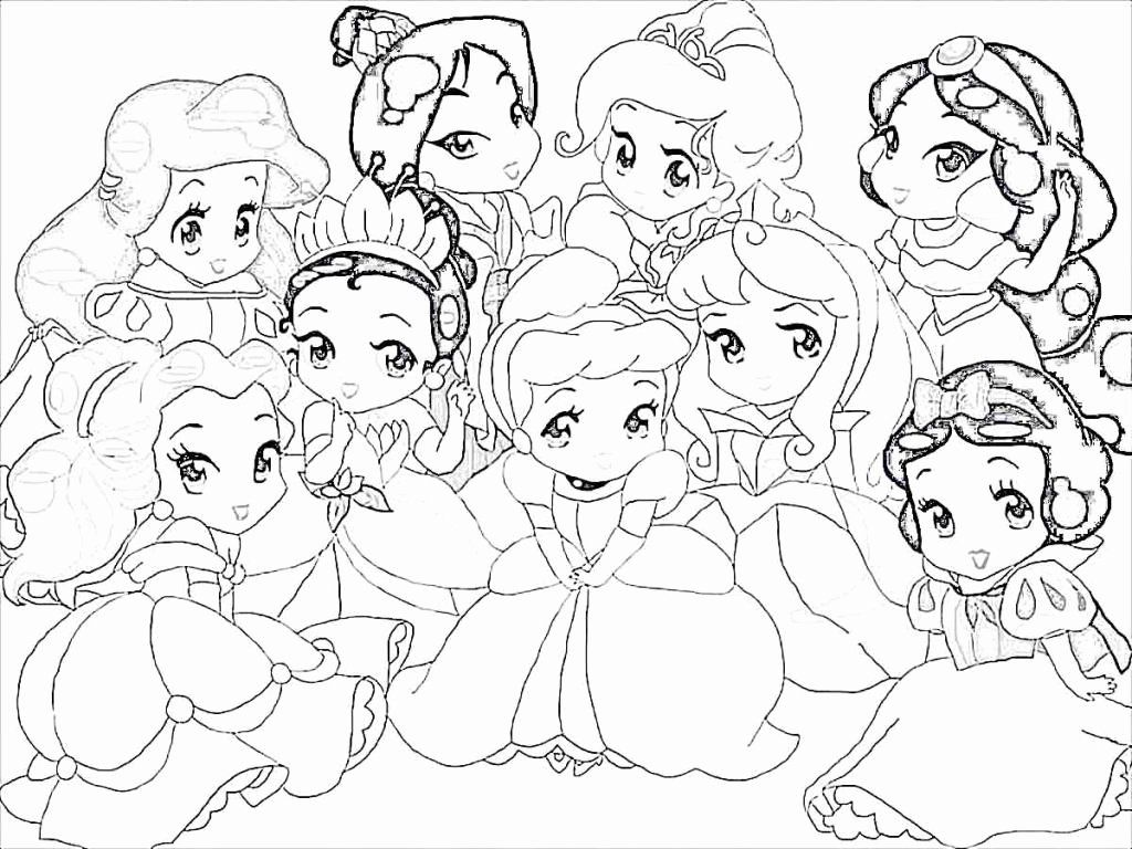 Cute Little Ariel With Grimbsby Disney Princess Coloring