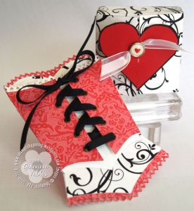 Real Red Corset & box