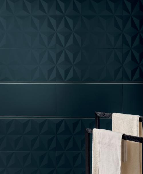 4D - Deep Blue Diamond - Unique ceramic tiles available at World ...