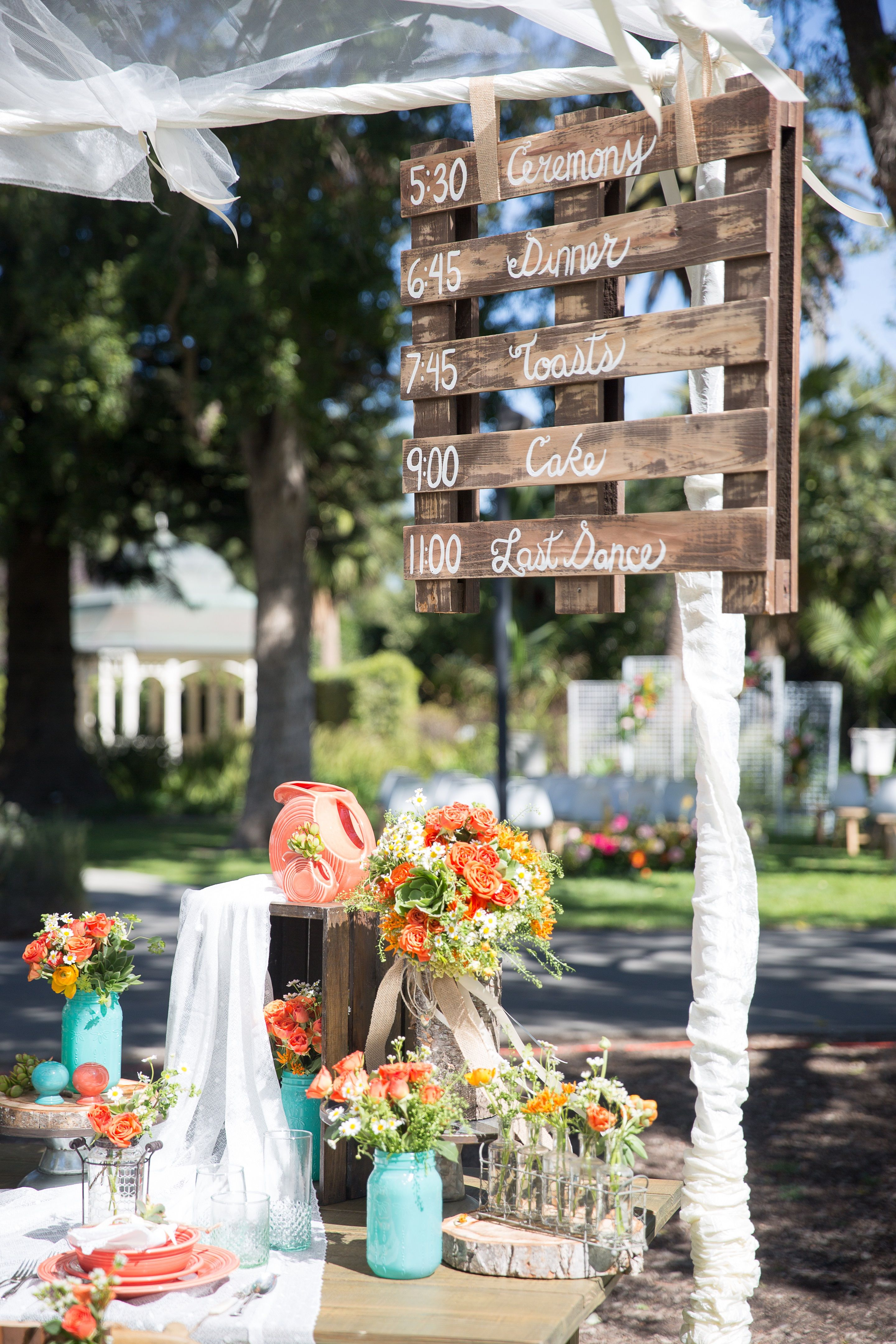 Rustic Rentals L A was featured in Event Planner Pat Frey Designs
