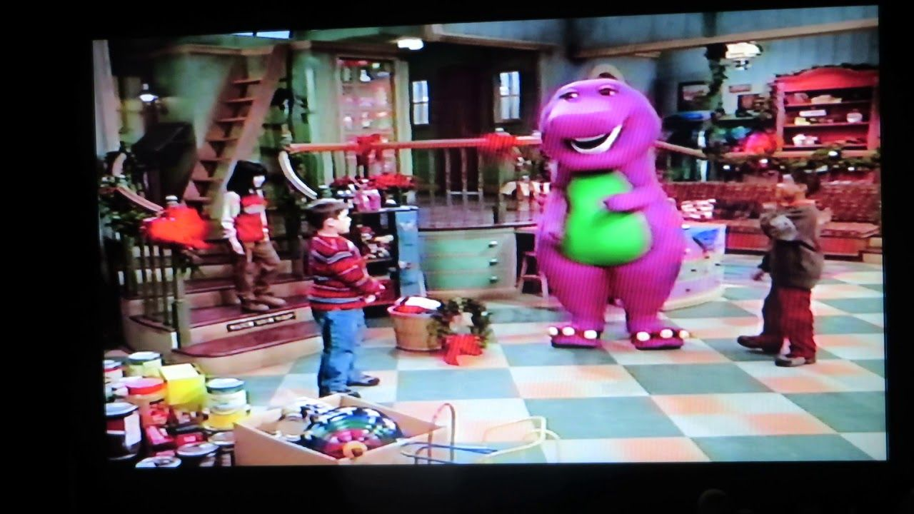 Part Two, Barney\'s Christmas Star, 2002 | Barney Home Videos ...