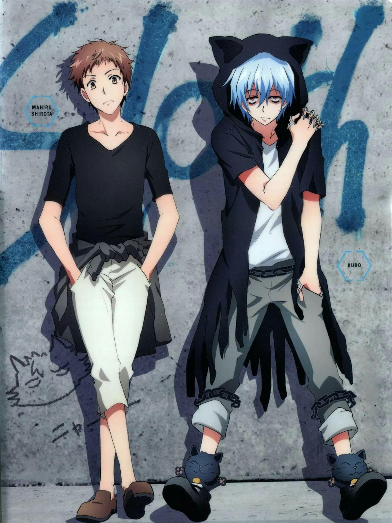 Kuro and Mahiru(Sloth pair) from Animedia Deluxe(I posted
