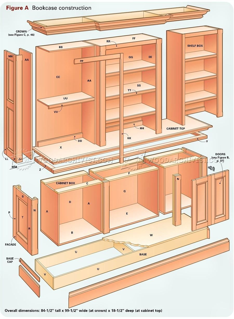 Grand Bookcase Plans Grand Bookcase Plans Tlehfsw Home Decor Ideas In 2020 Bookcase Plans Woodworking Projects Furniture Woodworking Plans Diy