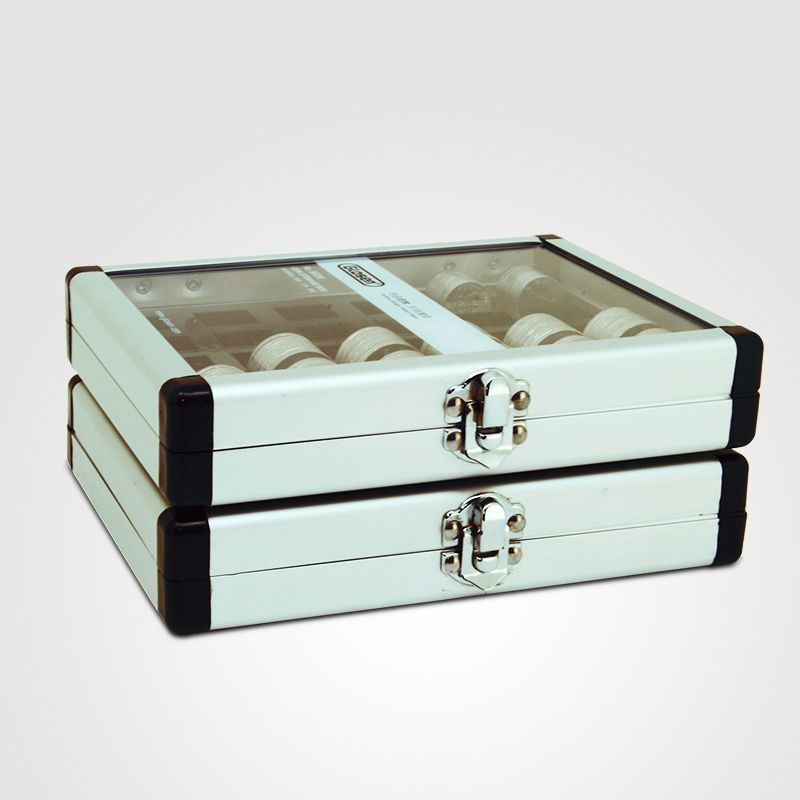 Glosen Coin Storage Box With Clear Plexiglass Cover.