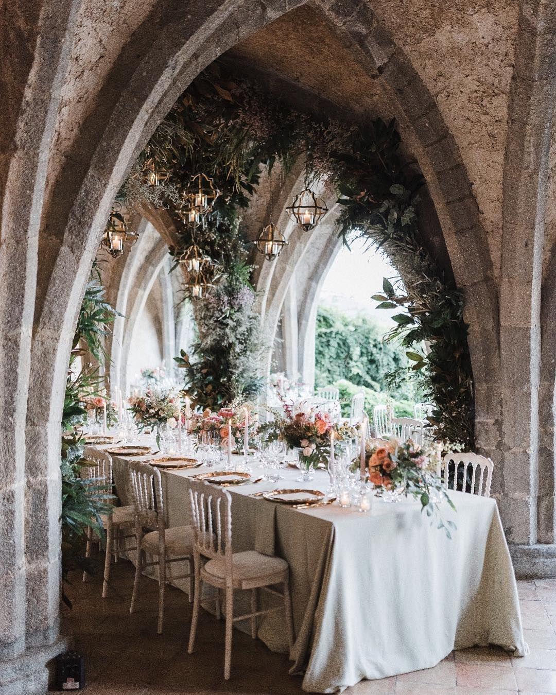 Wedding reception wedding decorations 2018  Beautiful Italian Wedding Venue Andrea and Robert wedding reception