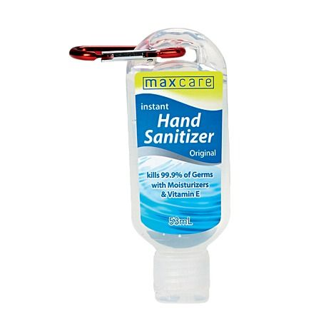 Maxcare Hand Sanitizer With Clip 53ml With Images Hand
