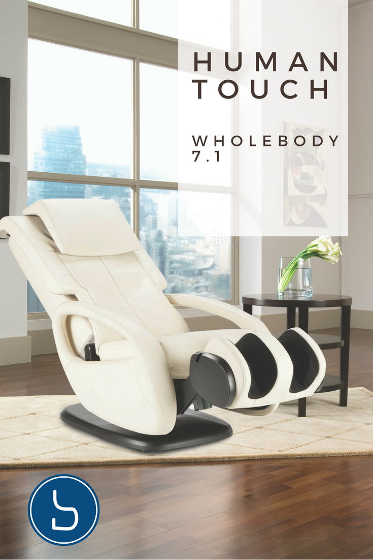 Human Touch WholeBody 7.1 Immersion Massage Chair Heated