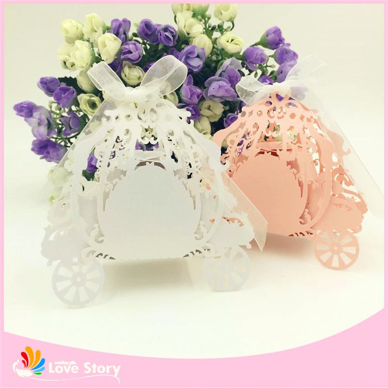 Cheap Candy Paper Box Buy Quality Babies Directly From China Favor Suppliers Laser Cut Bride And Groom Wedding